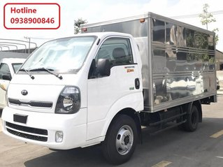 Xe tải Kia K250 tải trọng thùng kín, tải trọng 2T4 - Thaco Kia K250 đời 2021, trả góp 70%