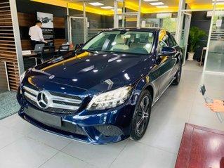Giá xe Mercedes-Benz C180 2020, thông số kỹ thuật, giá lăn bánh, khuyến mãi tháng 10/2020, màu xanh