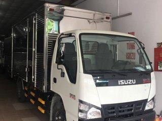 Isuzu 1.990kg thùng kín inox 4.4m, khuyến mãi tiền mặt 10.4tr, máy lạnh, 12 phiếu bảo dưỡng