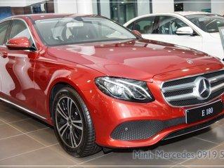 Mercedes-Benz E180 New - tặng 100% thuế trước bạ - xe giao ngay - trả góp lãi suất tốt