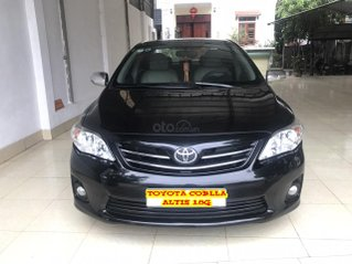 Bán Toyota Corolla Altis 1.8G đời 2011, màu đen, số tay, 1 chủ mua đi từ mới, xe thuộc hàng chất lượng cao mới