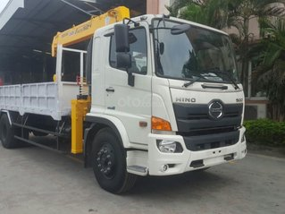 Xe tải gắn cẩu 5 tấn Hino