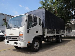 Xe tải JAC N650, XE tải JAC 6,5 tấn Hà Nội thùng dài 6,2m chỉ 590tr