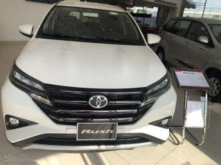 Bán Toyota Rush sản xuất năm 2020, màu trắng giao ngay - tặng BHVC thân xe