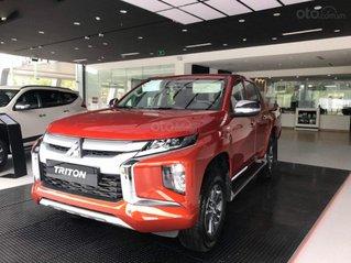 Cần bán Mitsubishi Triton 4x2 AT Mivec năm 2020, màu đỏ, xe nhập
