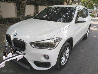 Trắng không tỳ vết - BMW X1 2016 trắng, nhập khẩu
