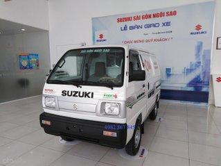 Cần bán xe Suzuki Blind Van sản xuất năm 2020, màu trắng