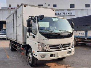 Xe tải 7 tấn Thaco Ollin 120 E4 Trường Hải máy điện 2021, thùng dài 6.2m trả góp 75%