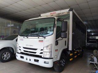 Isuzu 5.500kg, thùng kín 6.2m - KM: Máy lạnh, 9 phiếu bảo dưỡng