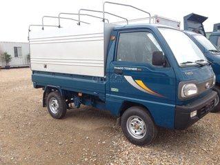 Giá bán xe tải 9 tạ máy xăng - Thaco Towner800 tải trọng 9 tạ 2021, trả góp 75%
