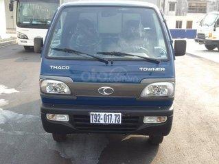 Giá bán xe tải 9 tạ máy xăng Thaco Towner800 tải trọng 9 tạ 2020, trả góp 75%