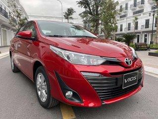 Bán xe Toyota Vios 1.5G sản xuất 2020, màu đỏ, 570 triệu