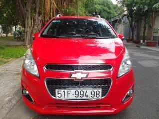 Cần bán Chevrolet Spark (LT-1.2L) đời 2016 MT, màu đỏ, gđ sử dụng mới 95%