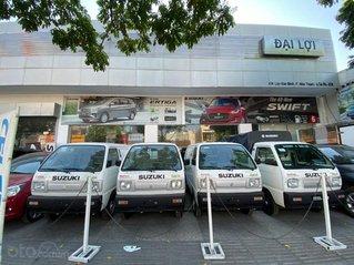 Suzuki Blind Van chạy giờ cấm 24/24 chỉ cần đưa trước 100 triệu lấy ngay xe