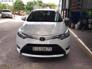 Cần bán gấp Toyota Vios sản xuất 2018, số sàn, bảo dưỡng hãng, bao test hãng