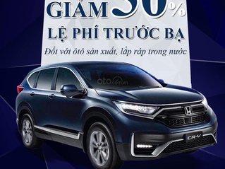 [Honda ô tô Mỹ Đình] nhận đặt cọc xe Honda CRV facelift 2020 - khuyến mãi hấp dẫn - giao xe tháng 8