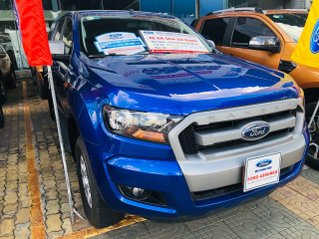 Bán Ford Ranger đăng ký lần đầu 2017, màu xanh lam ít sử dụng, giá chỉ 530 triệu đồng