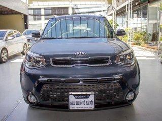 Bán xe Kia Soul 2.0 AT 2014, xe nhập, màu xanh, trả trước chỉ 189 triệu