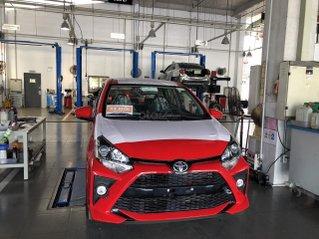 Bán ô tô Toyota Wigo 1.2 MT 2021, màu đỏ, giá chỉ 352 triệu