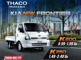 Xe Kia K250 2.5 tấn vào thành phố