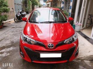 Toyota Vios 1.5G 2019 dòng full, 7 túi khí màu đỏ, odo 38.000km
