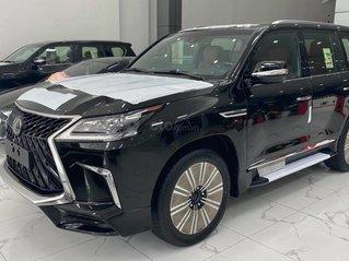 Bán Lexus LX570 MBS 4 ghế thương gia, sản xuất 2020, màu đen, xe giao ngay