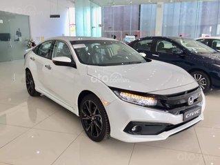 Honda Civic 2020 RS - Giảm ngay tiền mặt, lãi suất ưu đãi cùng quà tặng kèm theo. LH ngay để nhận ưu đãi