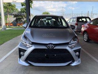 Toyota Wigo 1.2G số sàn 2021 giá cạnh tranh- khuyến mại tiền mặt, tặng phụ kiện