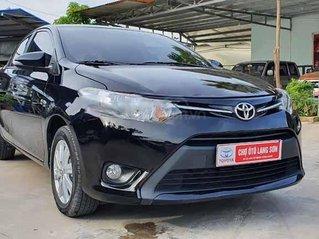Bán Toyota Vios 1.5E 2018, màu đen