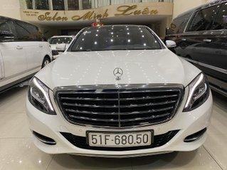 Cần bán gấp Mercedes-Benz S500L 2017, màu trắng