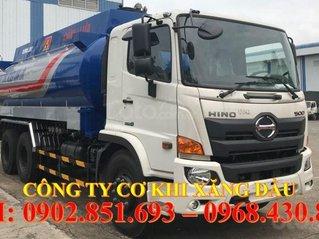 Bán xe bồn xăng dầu 20 khối Hino giá rẻ, xe bồn Hino 20 khối chở xăng dầu giao ngay