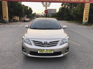 Toyota Corolla Altis 1.8G MT sản xuất cuối 2012, số tay, màu nâu vàng, 1 chủ thiếu tá bộ công an, mới thế không biết