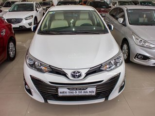 Bán xe Toyota Vios năm 2018, biển số Sài Gòn, màu trắng