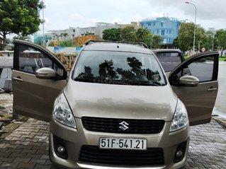 Bán xe Suzuki Ertiga đời 2016, số tự động, màu vàng cát, xe chính chủ đi rất giữ gìn, cam kết không đâm đụng, thủy kích