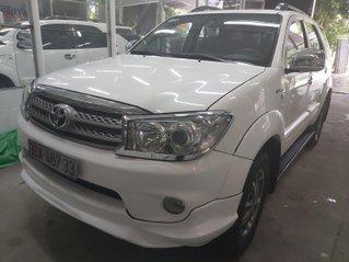 Cần bán gấp Toyota Fortuner sản xuất 2011 bản sportivo, màu trắng xe nhập giá chỉ 495 triệu đồng