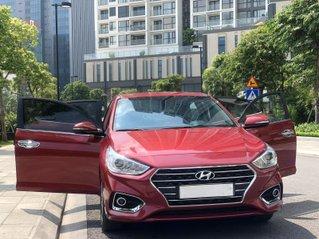 Bán ô tô Hyundai Accent đỏ năm sản xuất 2018 bản đặc biệt, giá chỉ 500 triệu
