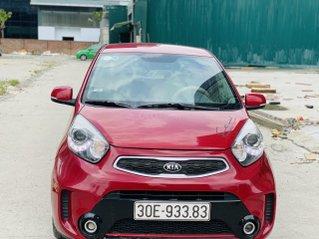 Bán xe Kia Moning Si 2017 số sàn màu đỏ biển đẹp