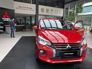 Mitsubishi Attrage 2020 - hỗ trợ 50% phí trước bạ, xe nhập khẩu, có sẵn