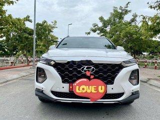 Cần bán gấp Hyundai Santa Fe đời 2019, màu trắng như mới