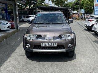 Cần bán gấp Mitsubishi Pajero Sport sản xuất năm 2012, màu nâu, xe nhập số tự động giá cạnh tranh