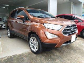Bán xe Ford EcoSport Titanium sản xuất 2019, màu nâu còn mới