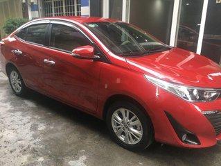 Cần bán xe Toyota Vios 1.5G đời 2019, màu đỏ còn mới, giá tốt