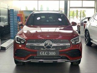 Mercedes-Benz GLC 300 2020, giá khuyến mại tốt nhất, giảm 50% thuế trước bạ, tặng 1 năm bảo hiểm thân vỏ, 2 năm bảo dưỡng