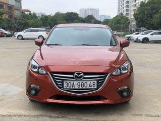 Cần bán gấp Mazda 3 năm 2016, màu đỏ còn mới
