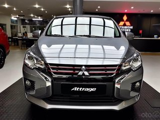 Mitsubishi Attrage CVT nhập Thái - chỉ 140tr nhận xe - giảm 50% phí trước bạ - tặng bộ phụ kiện MMV 10tr - BHVC 1 năm