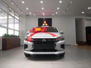 Mitsubishi Attrage MT 2020 nhập khẩu - 119tr nhận xe - giảm 50% phí trước bạ + tặng BHVC - vay lãi suất ưu đãi