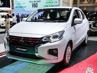 [Mitsubishi Attrage 2020] nhập khẩu Thái Lan, giá ưu đãi cực khủng + cam kết mua xe giá tốt nhất chỉ có tại đây