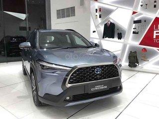 Bán Toyota Corolla Cross 1.8HV sản xuất 2020, màu xanh lam, nhập khẩu