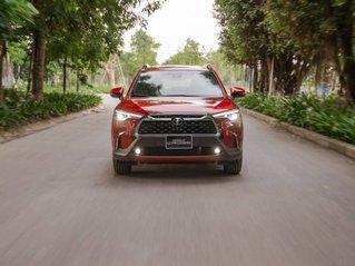 Cần bán Toyota Corolla Cross 1.8V đời 2020, màu đỏ, nhập khẩu nguyên chiếc