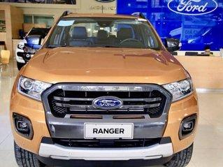 Cần bán xe Ford Ranger Wildtrak 2.0L 4x2 năm sản xuất 2020, màu cam, xe nhập, giá tốt